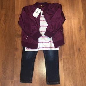 7 for all Mankind girls 3pc set